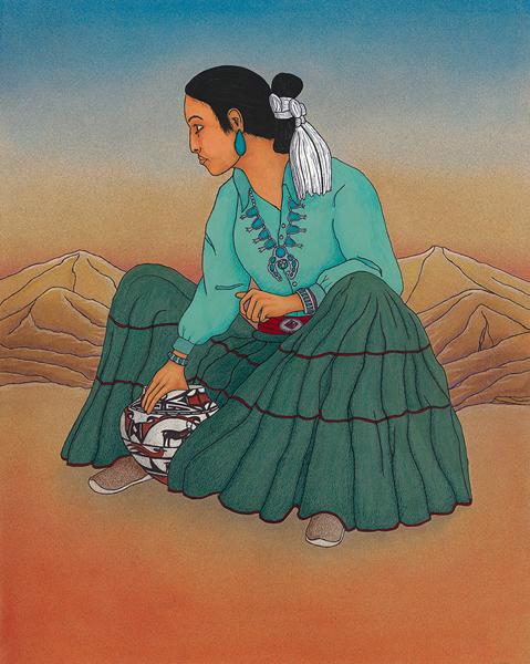 Mel Ratliff: Desert Woman
