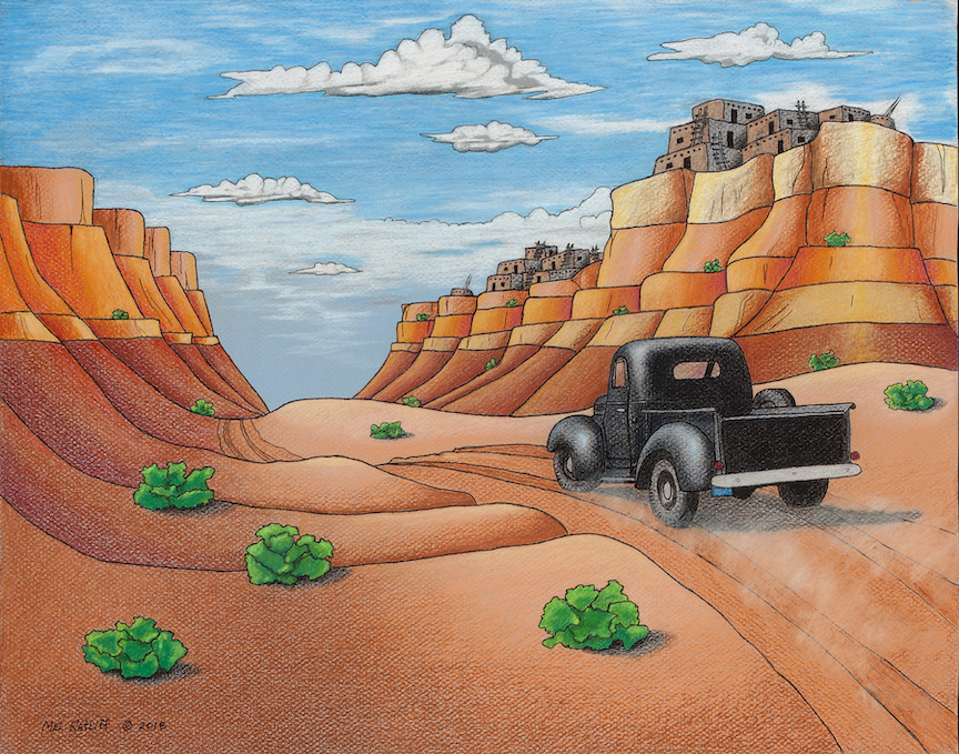 Mel Ratliff: Dusty Road to the Pueblo