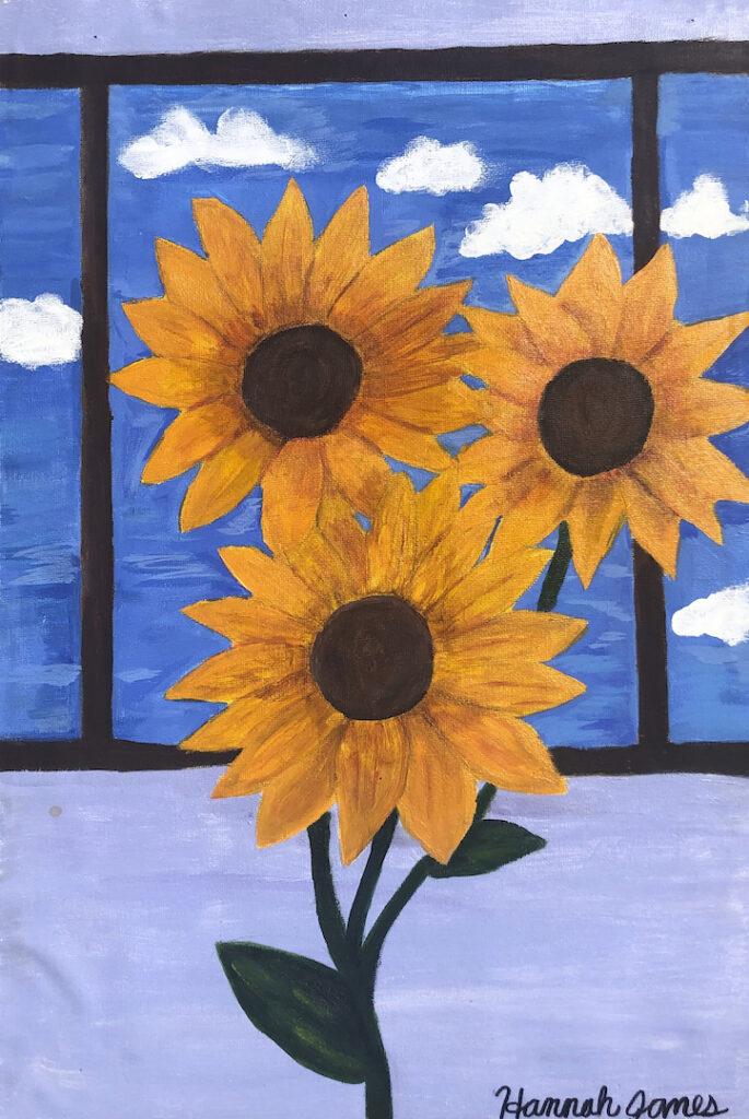 Hannah James, Sunflower