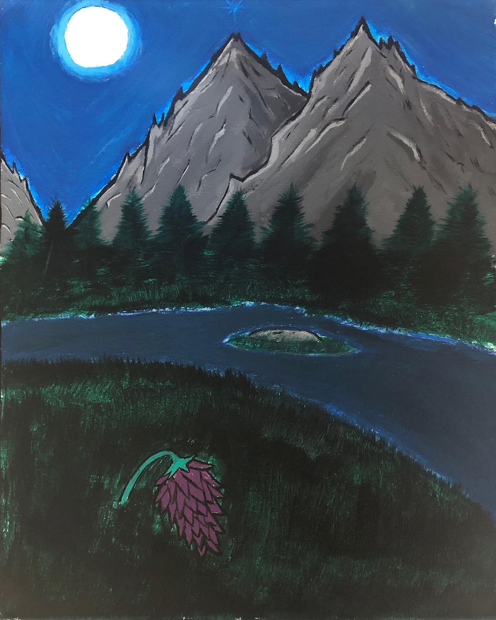 Jerran Begaye: Luna's Sky