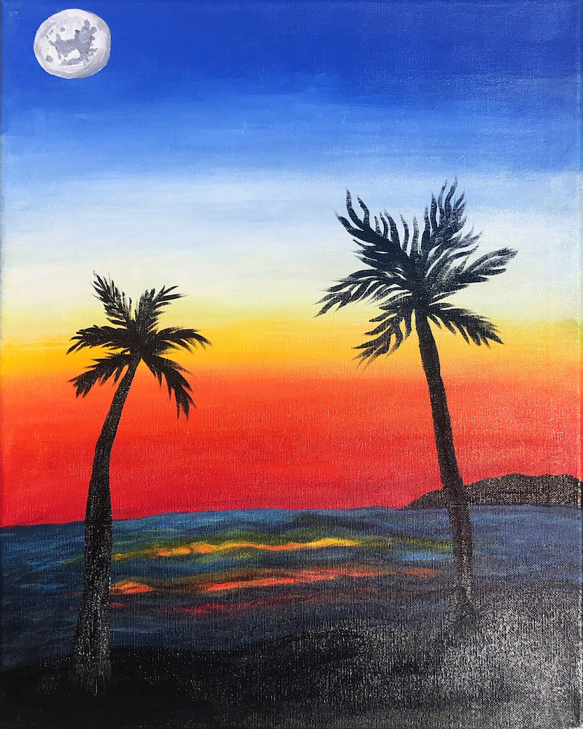 Lovelia Murphy: Swaying Palm Trees