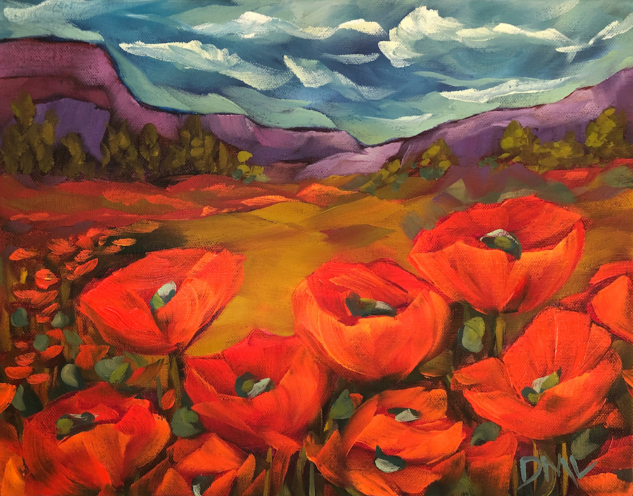 Dawn Lomako: Poppy Mesa