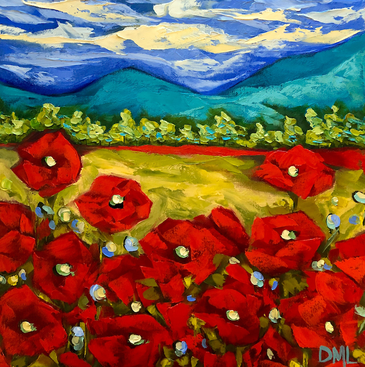 Dawn Lomako: Poppy Valley