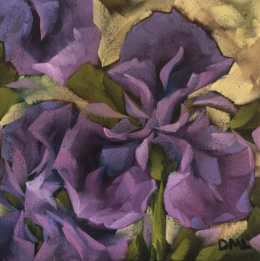 Dawn Lomako: Purple Iris