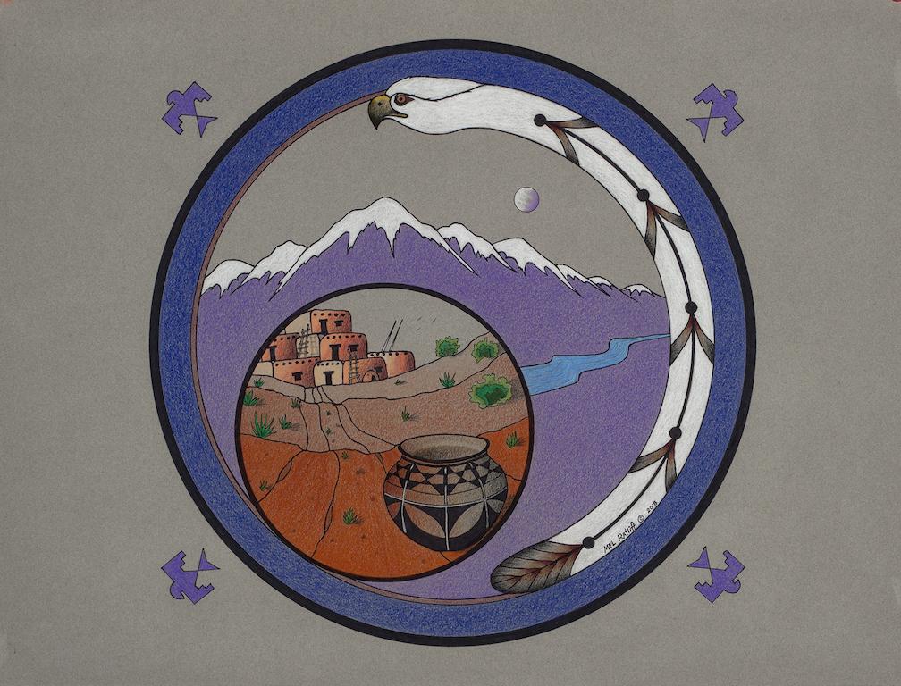 Mel Ratliff: Purple Moon