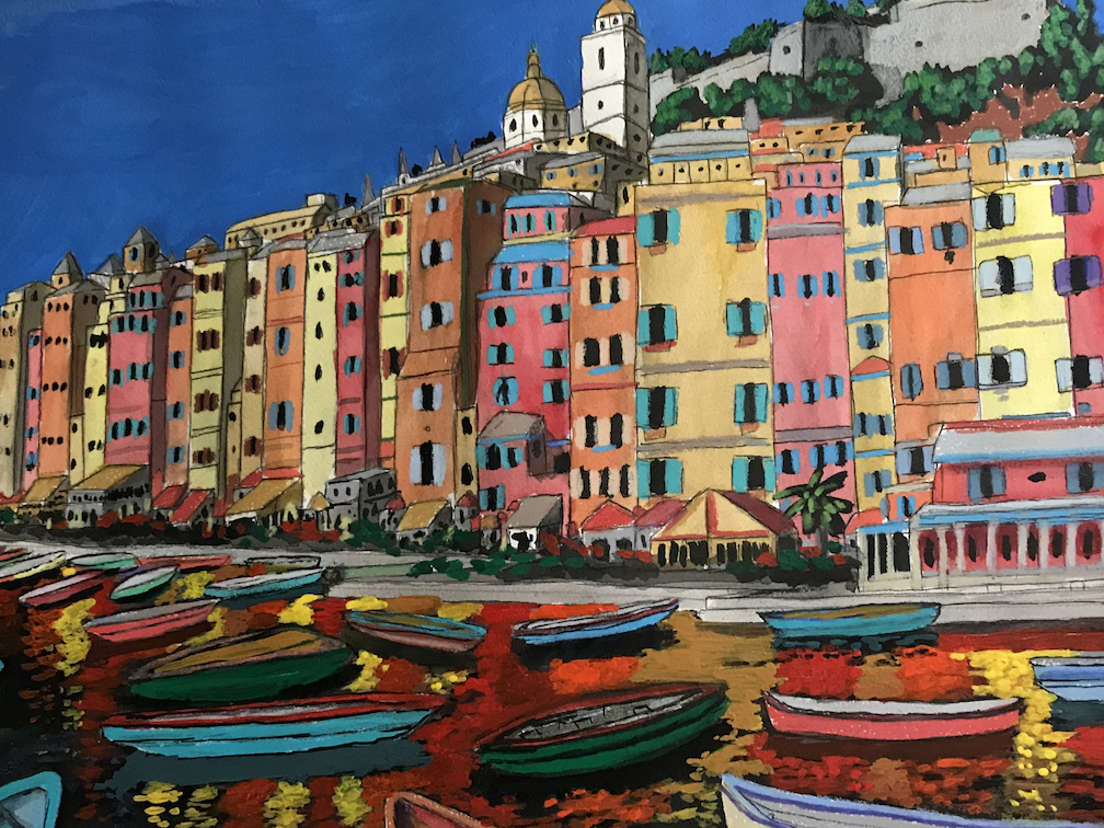 Jason Huth: Sun and Colors of Portovenese