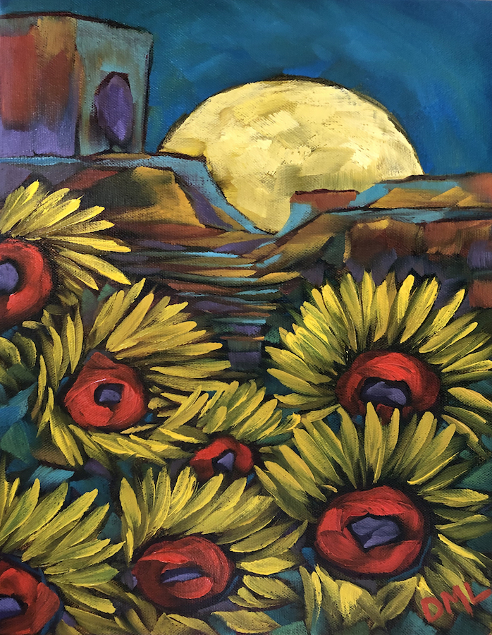 Dawn Lomako: Sun and Moon