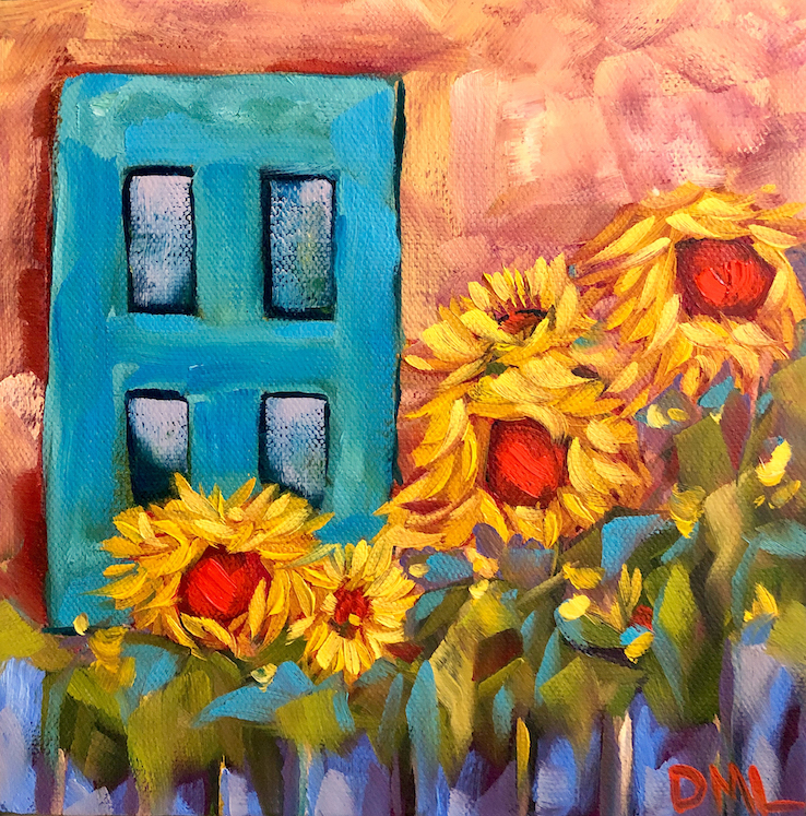 Dawn Lomako: Sunflower Cottage
