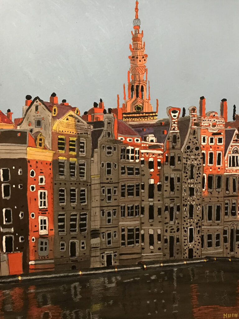 Jason Huth: Sunset and Reflections in Amsterdam