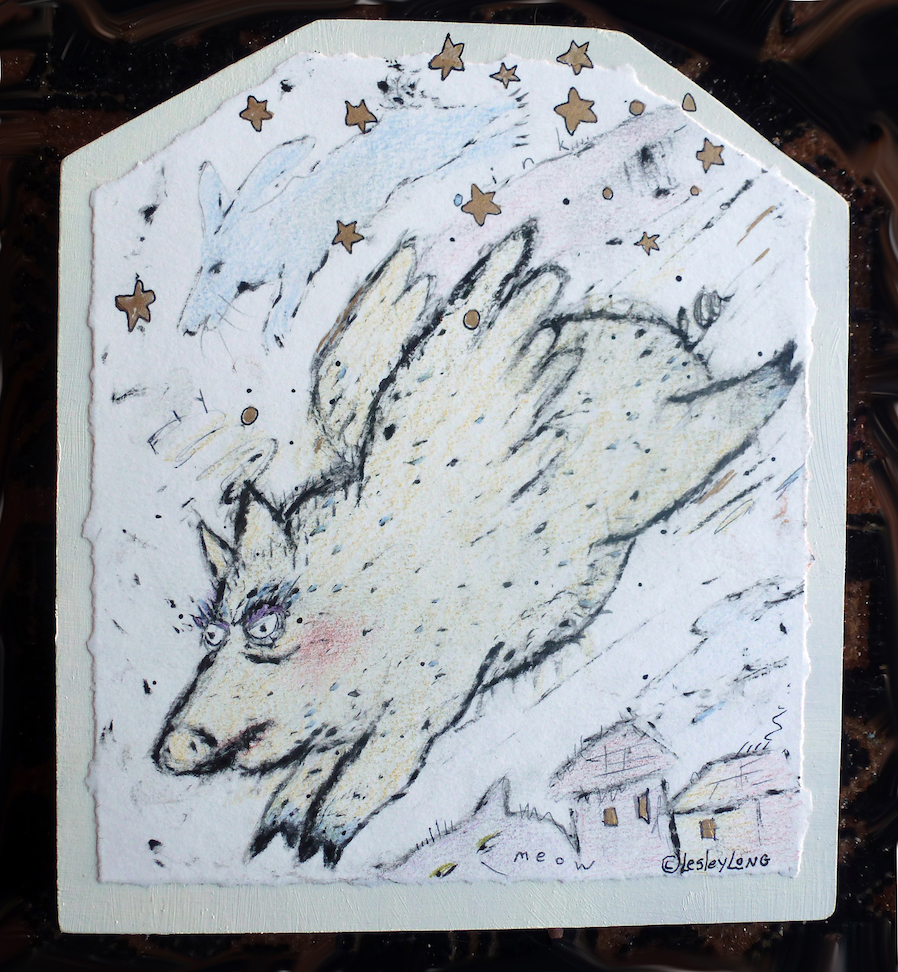 Lesley Long: The Famous Flying Pig