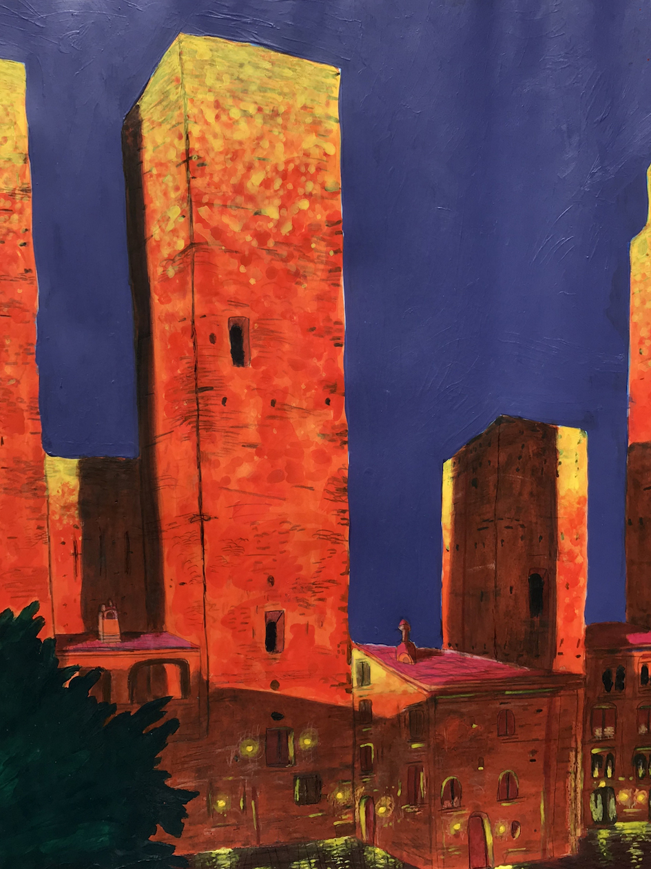 Jason Huth: The Towers of San Gimignano