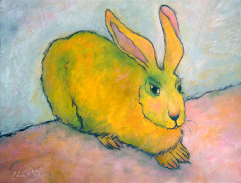 Lesley Long: Rabbit Repose