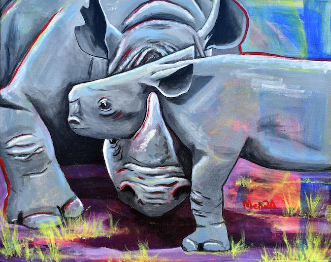 Abraham Mendoza: Rhino