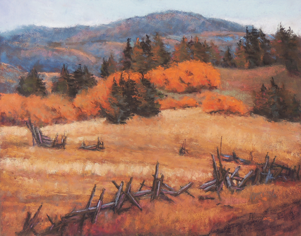 Lyle H. Brown: A Country Pasture