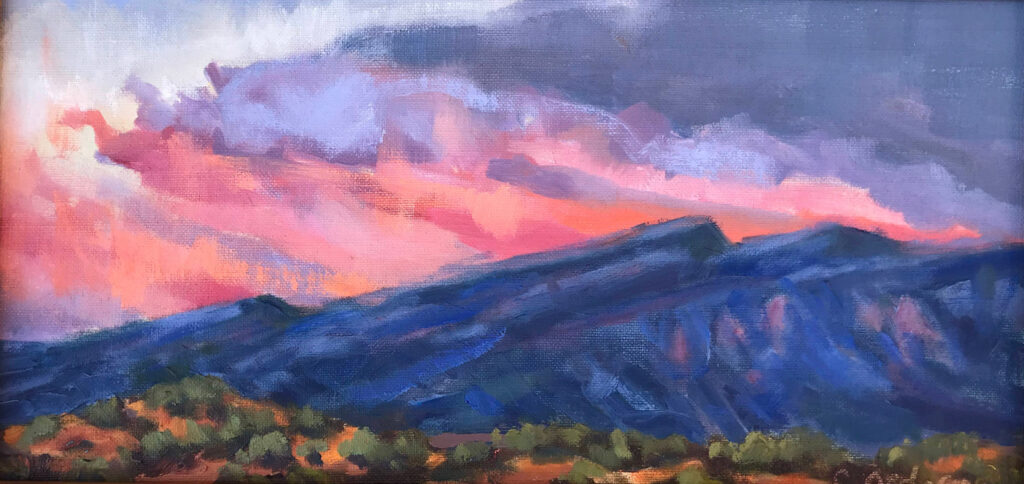 Carol Ordogne: Another Placitas Sunrise