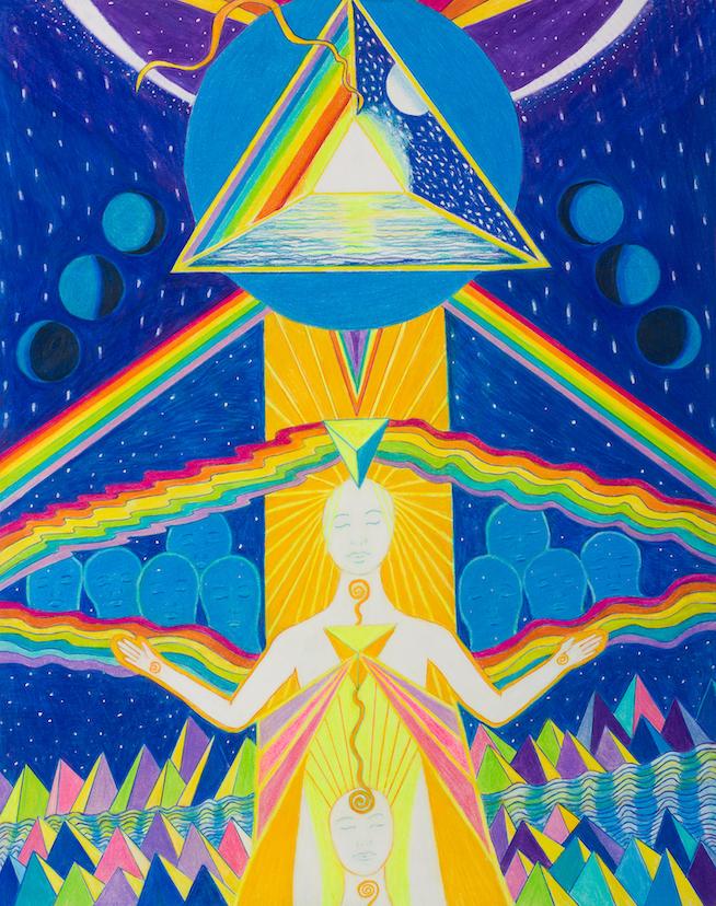 Susan Solari: Ascending Moon Goddess