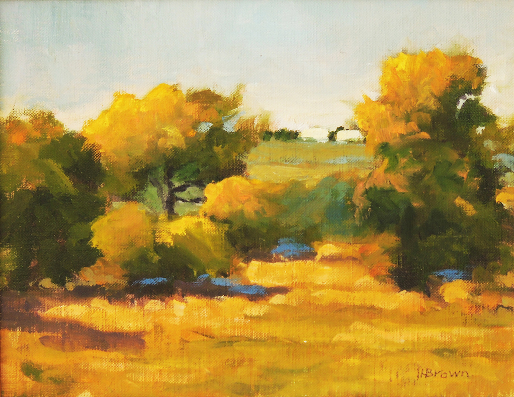 Lyle H. Brown: Bosque Morning