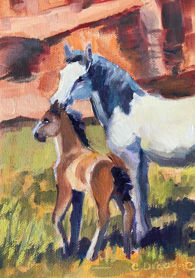Carol Ordogne: Canyon de Chelly Horses