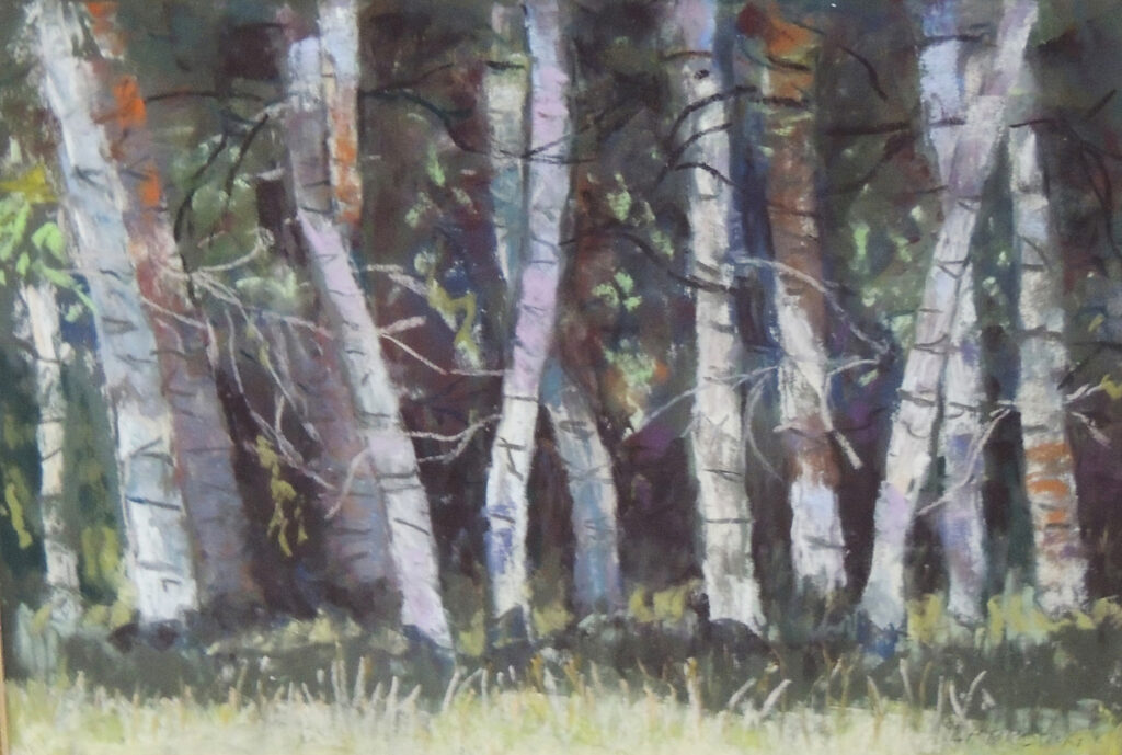 Lyle H. Brown: Dance of the Aspens