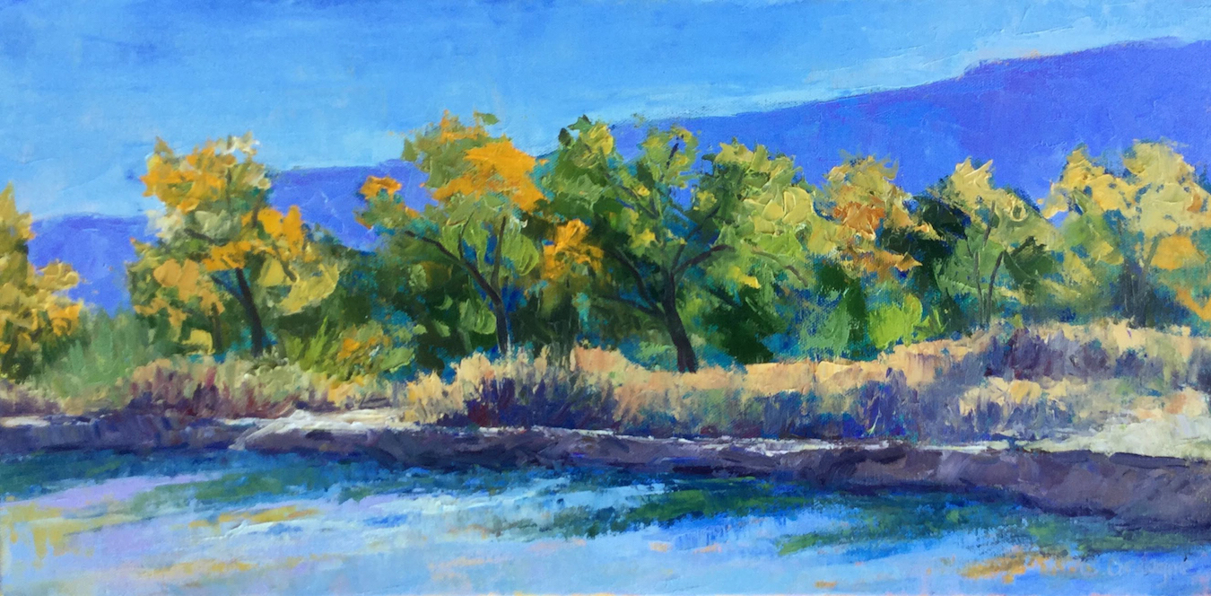 Carol Ordogne: Early Morning along the Rio Grande