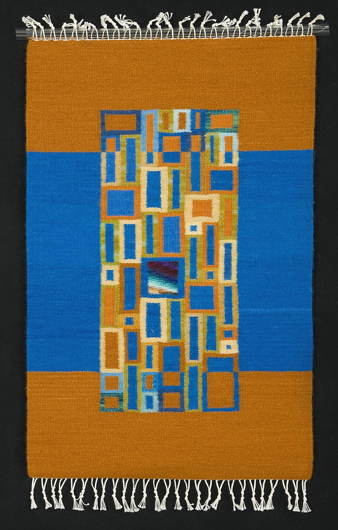 Donna Loraine Contractor: Gold & Blue Brights, Fractured Square Serie