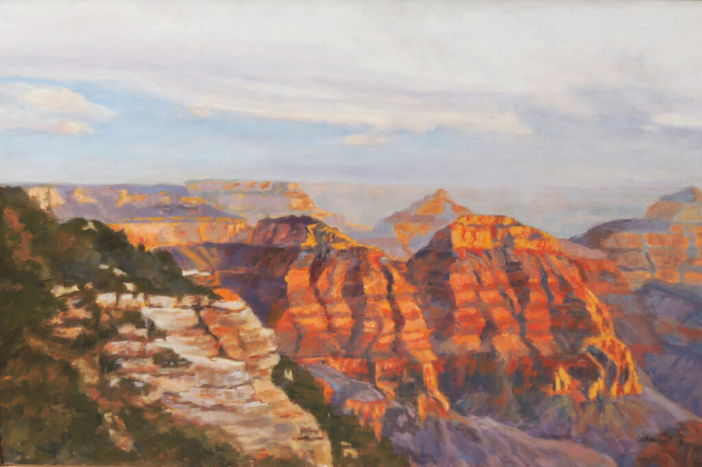 Lyle H. Brown: Grand Canyon Light