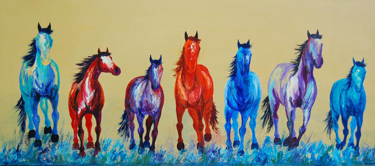 John Saunders: Horse Parade