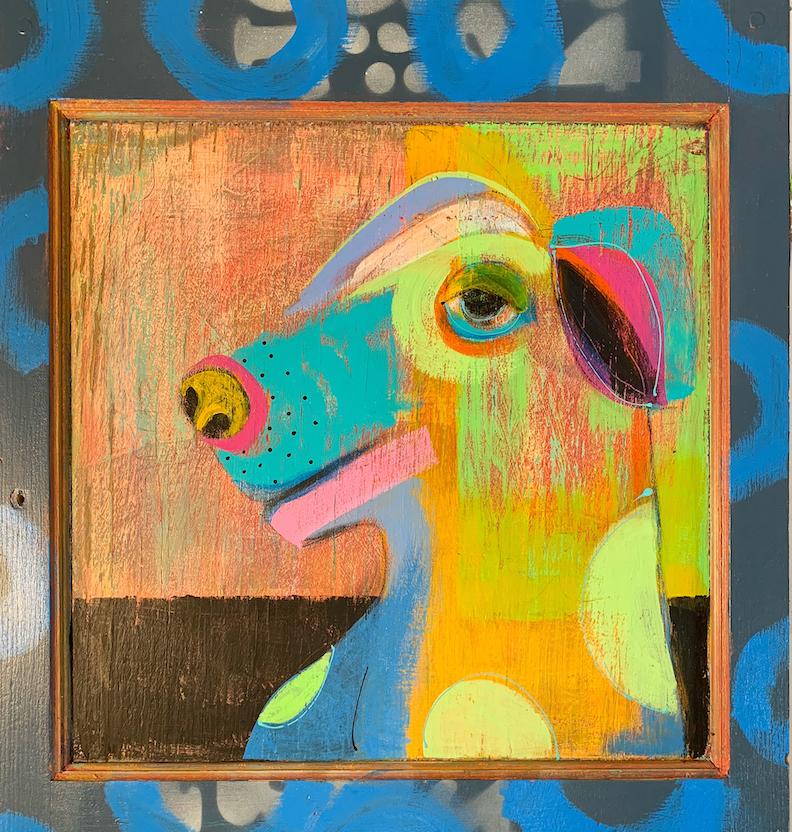 Laura Balombini: Kitchen Dog II