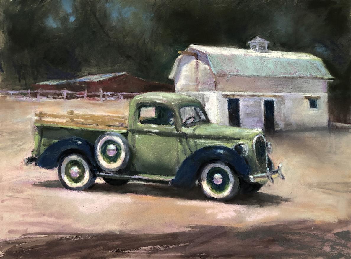 Marilyn Drake: Old Town Farm Truck & Barn