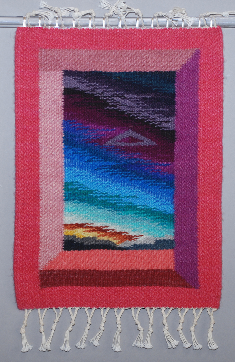Donna Loraine Contractor: Pink Dimensional Window