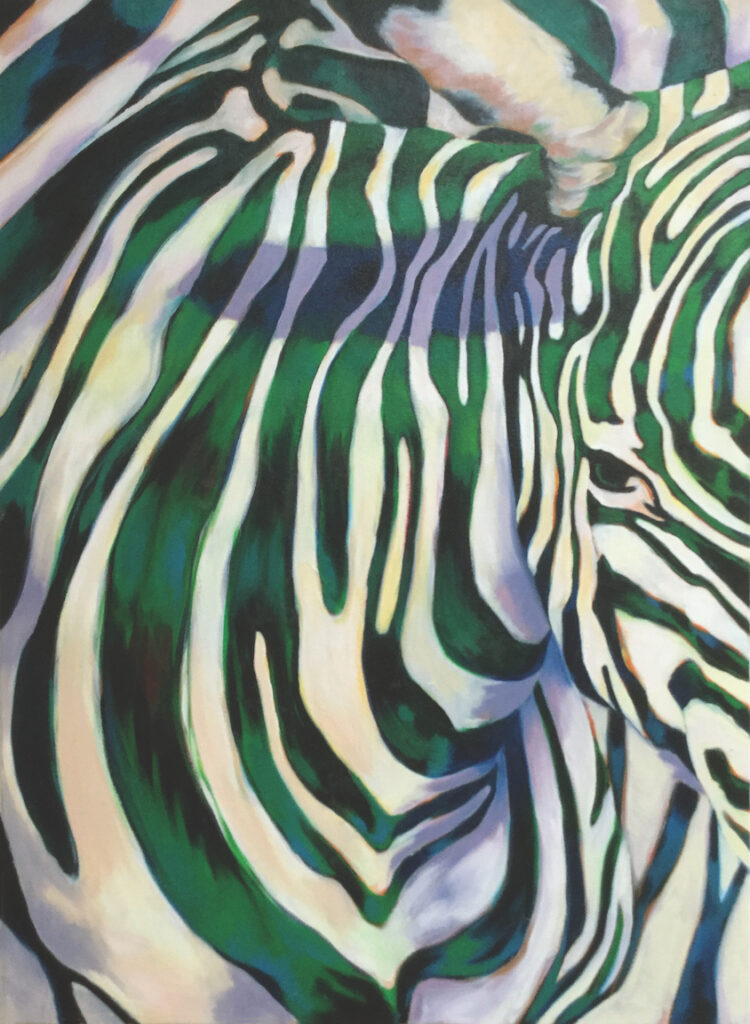 Marcia Rackstraw: Green Zebra