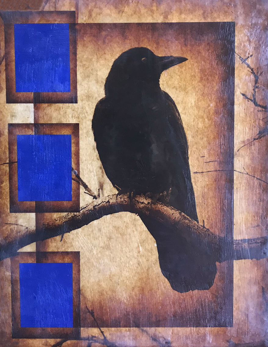 Andrea J. Sharon: Raven in Tree