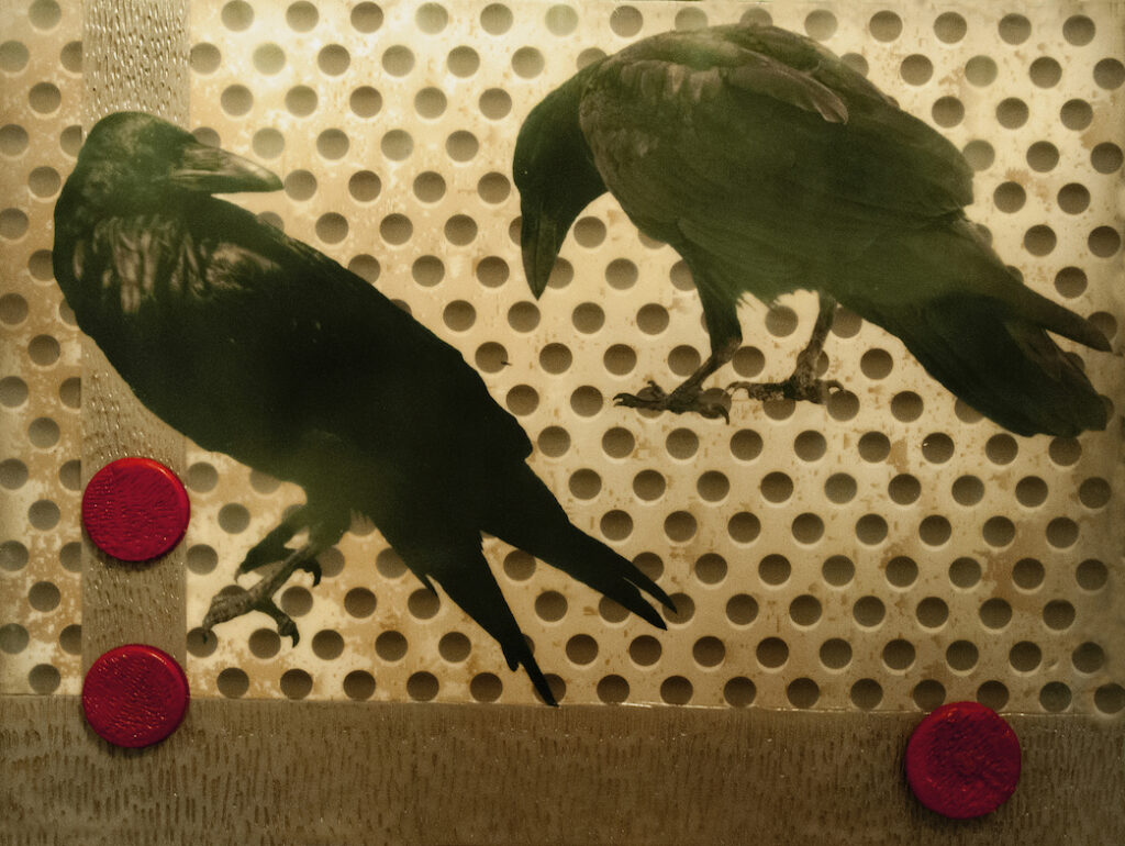 Andrea Sharon: Ravens and Red Dots II
