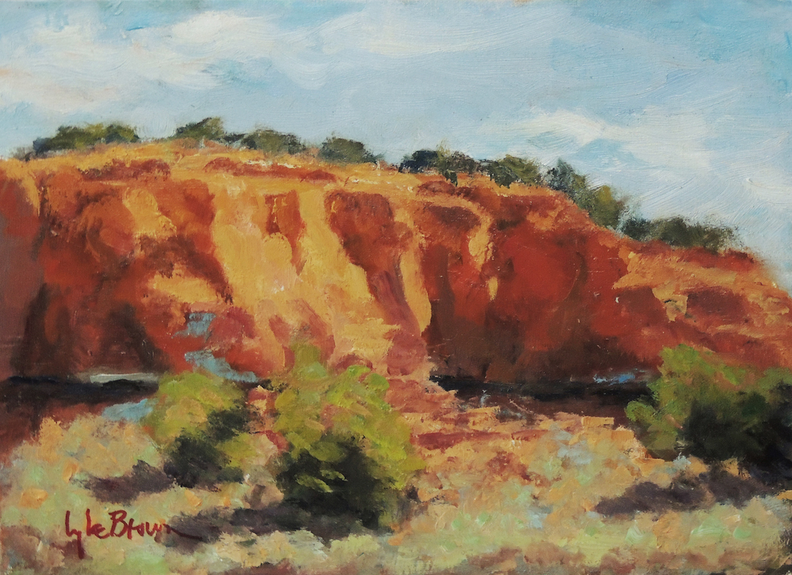 Lyle H. Brown: Red Rocks