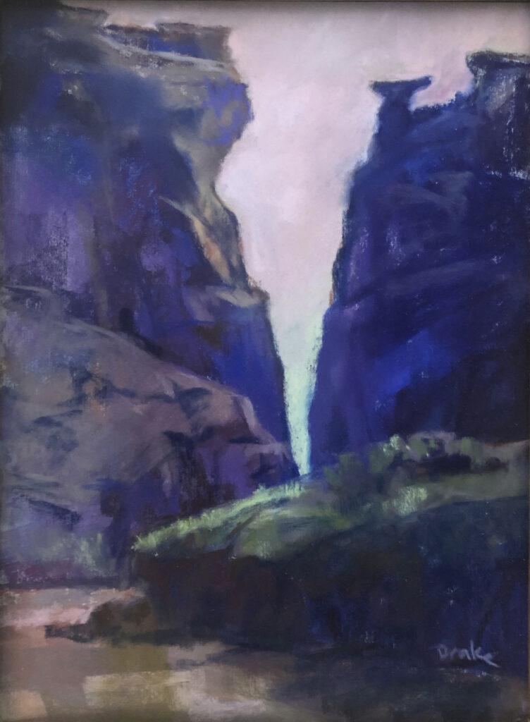 Marilyn Drake: San Lorenzo Canyon, Spring