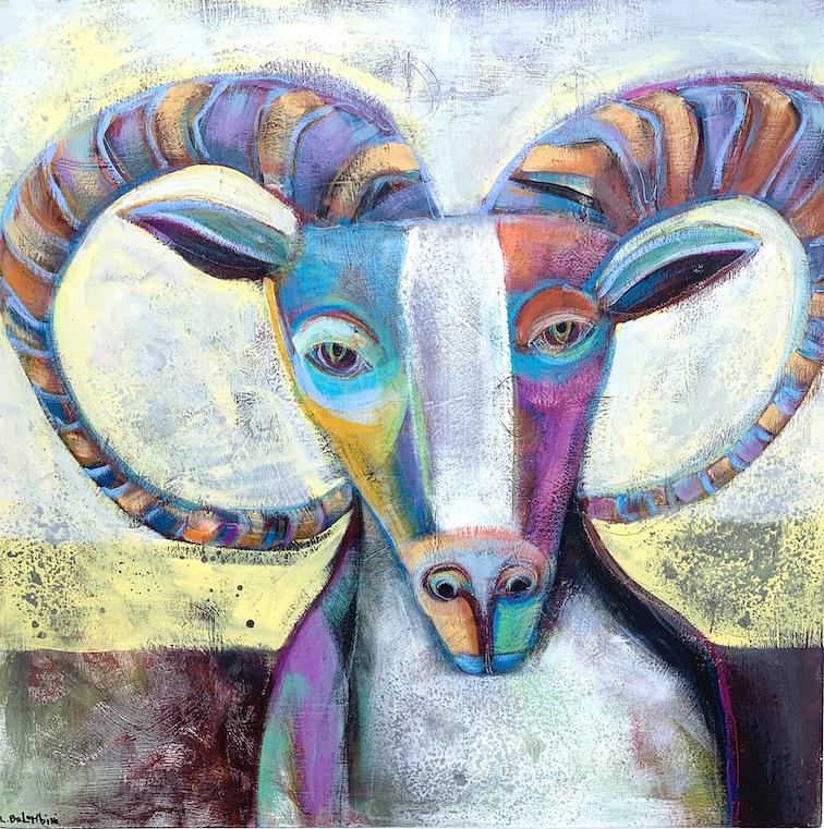 Laura Balombini: Sandia Sheep
