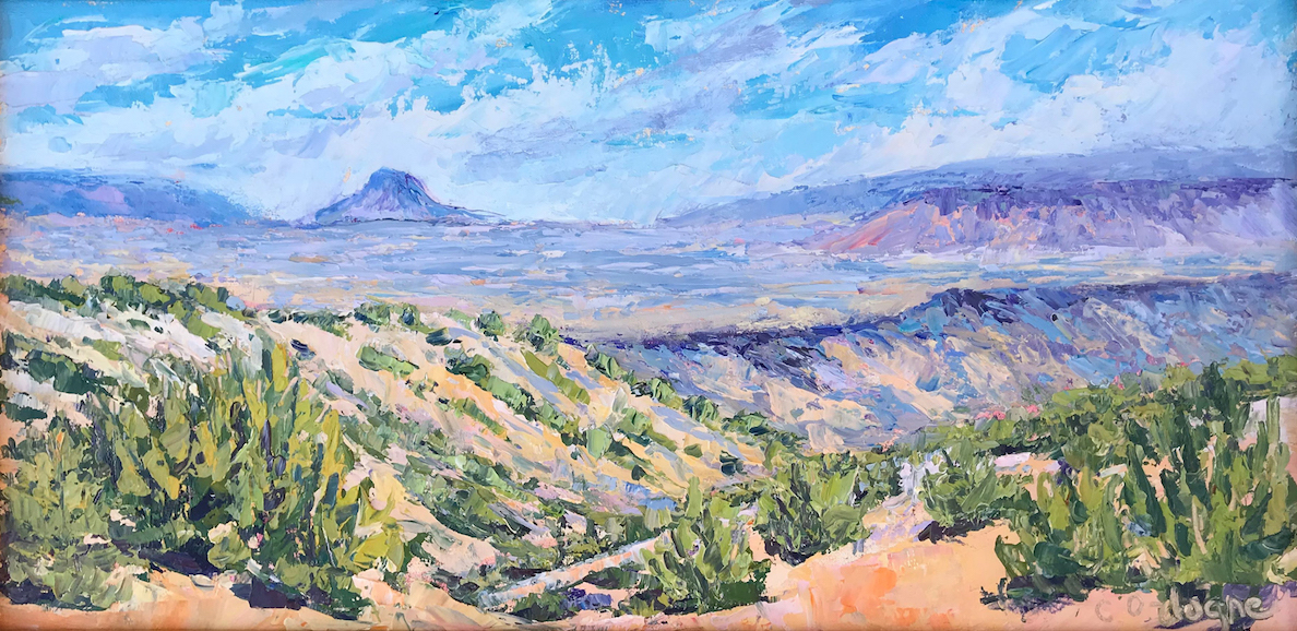 Carol Ordogne: View of Cabezon