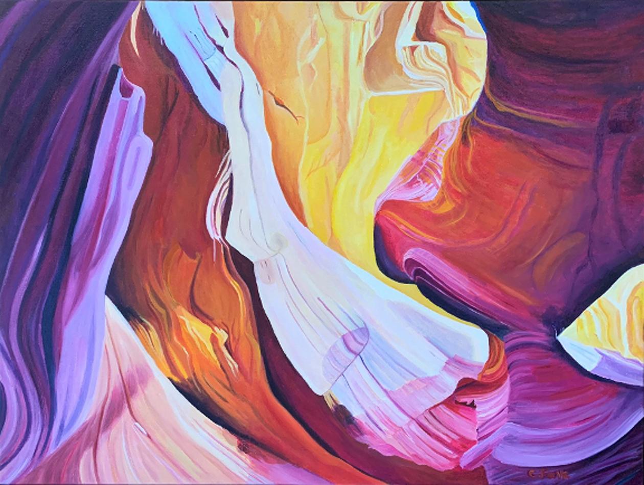 Connie Falk: Antelope Canyon 1