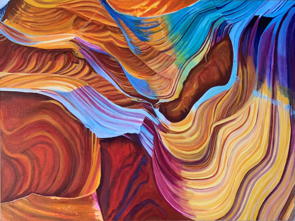 Connie Falk: Antelope Canyon 2