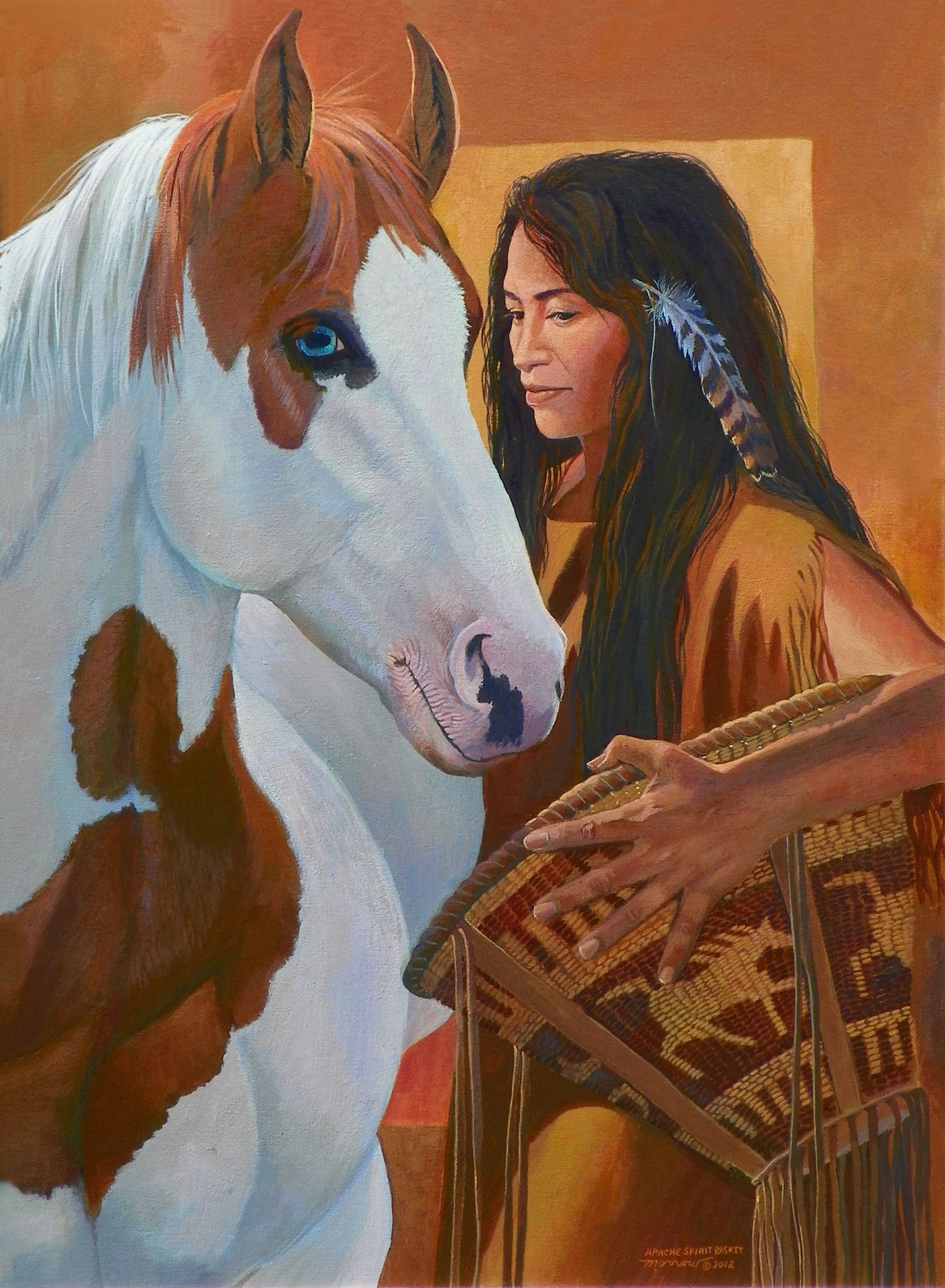 Kathy Morrow: Apache Spirit Basket