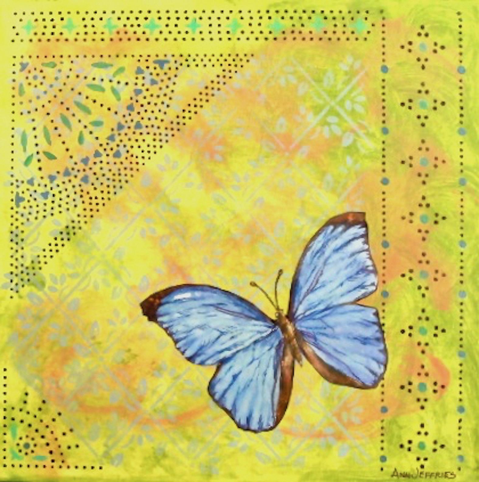 Ann Jeffries: Blue Morpho