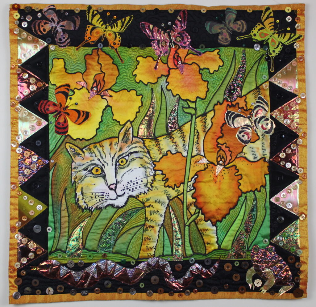 Judith Roderick: Bobcat in the Iris