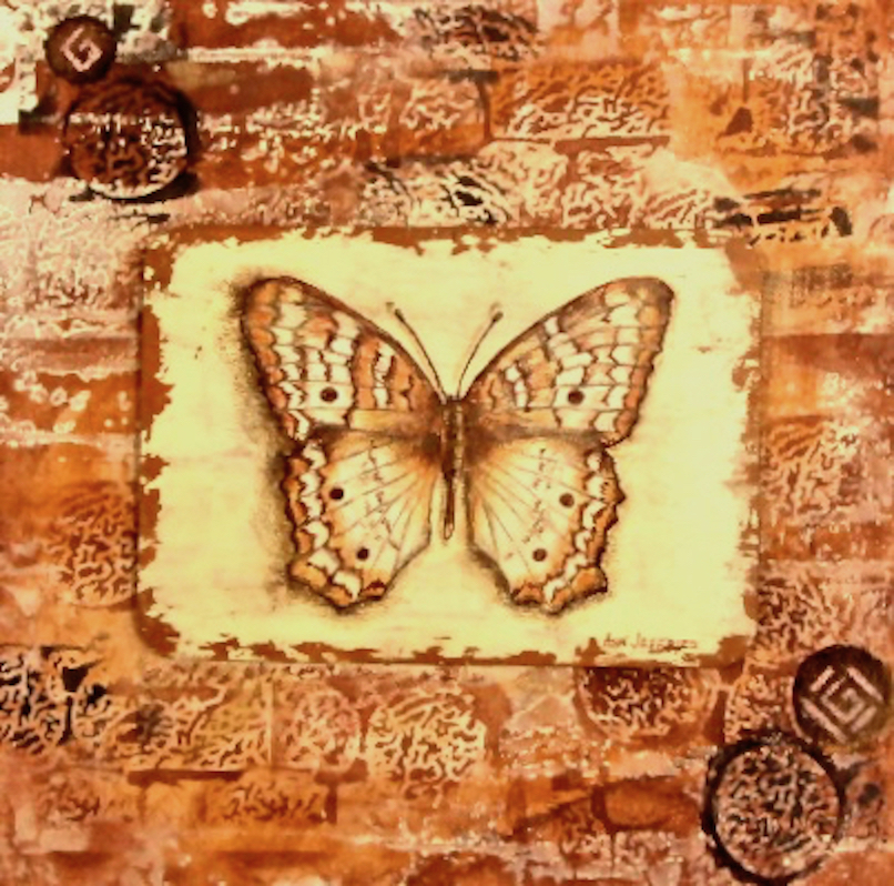 Ann Jeffries: Butterfly #6