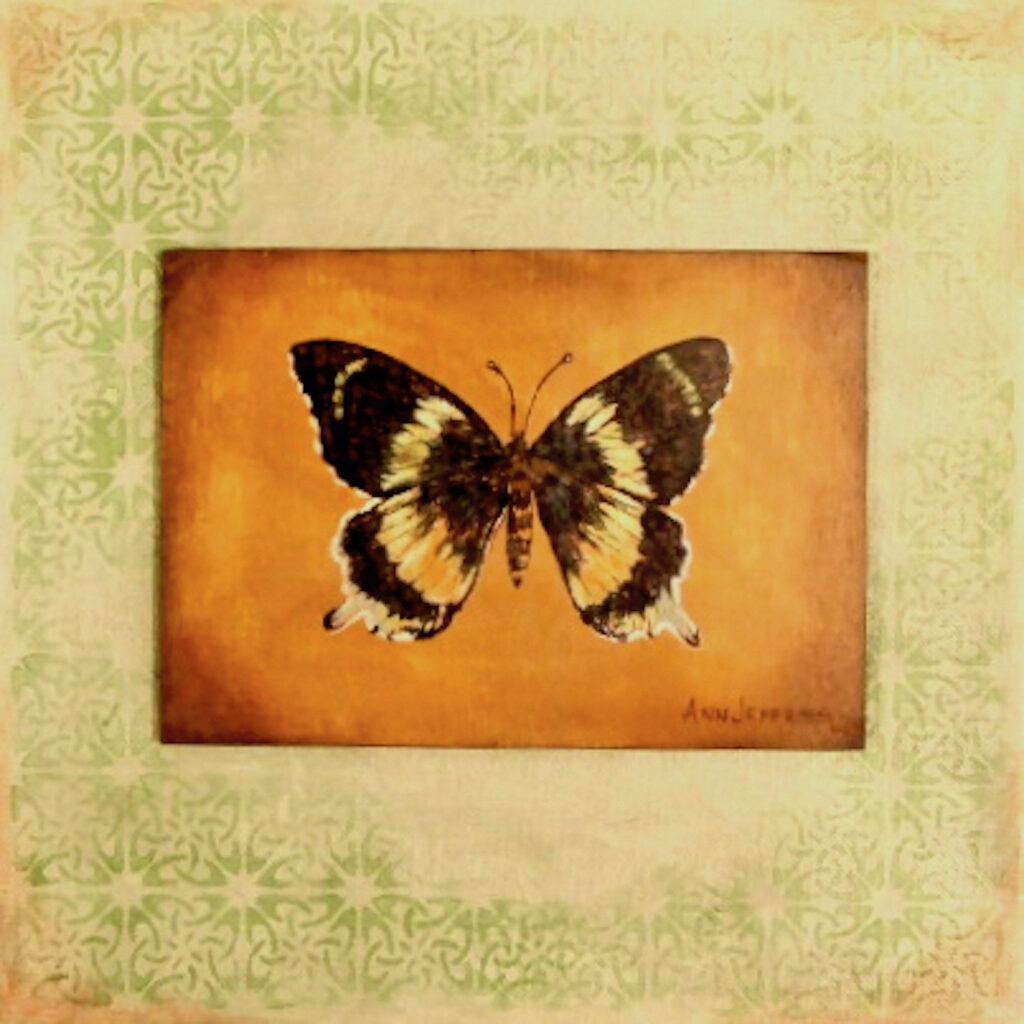 Ann Jeffries: Butterfly #8