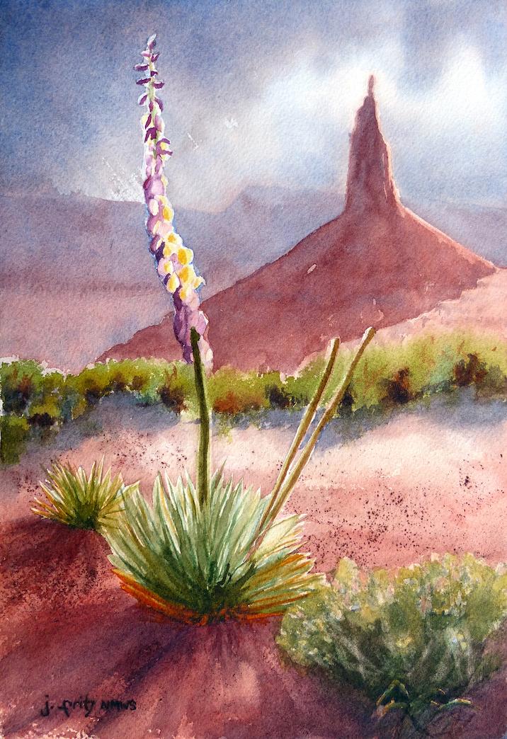 Jane Fritz: Canyonlands Yucca