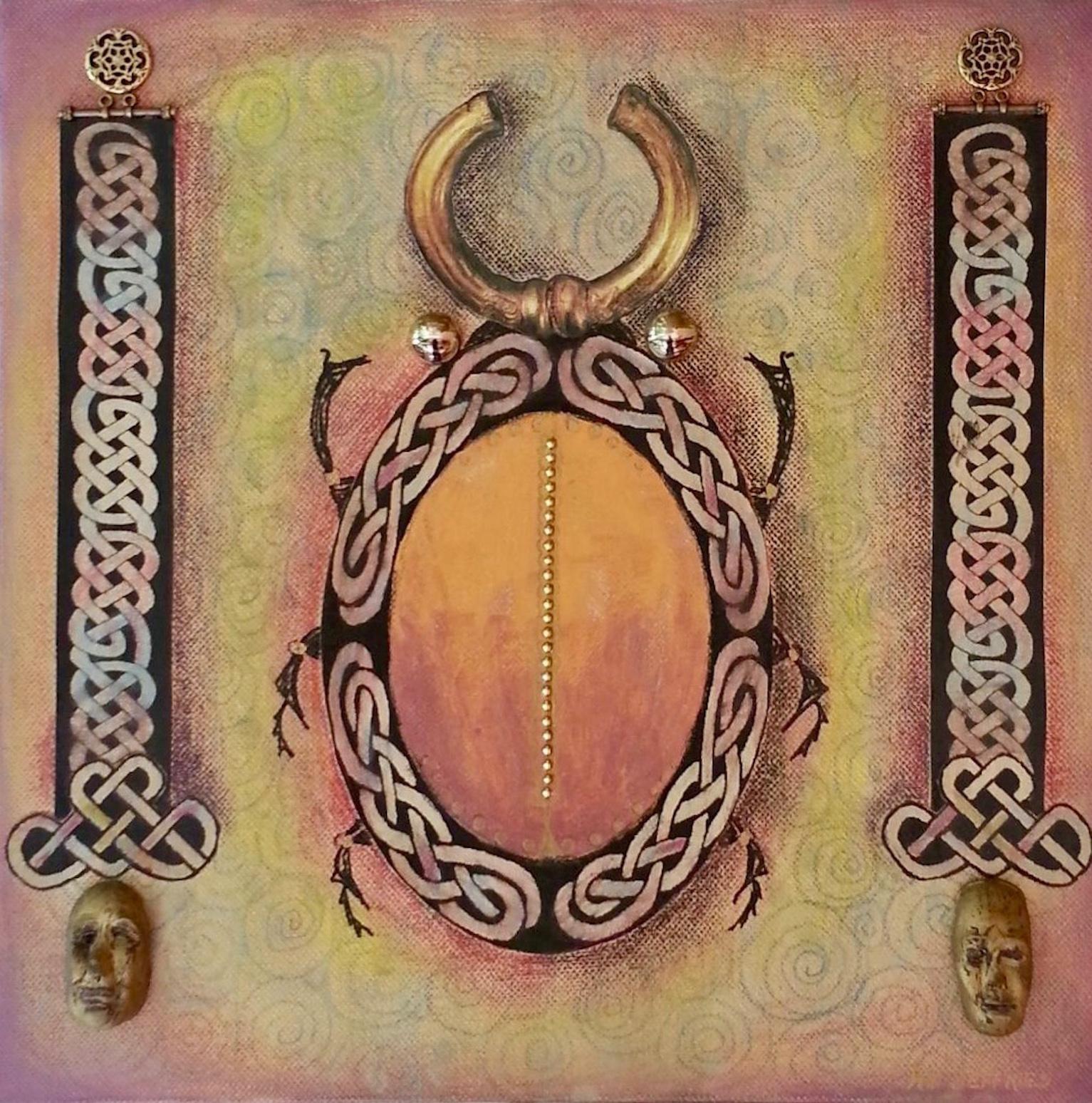 Ann Jeffries: Celtic Fantasy Beetle