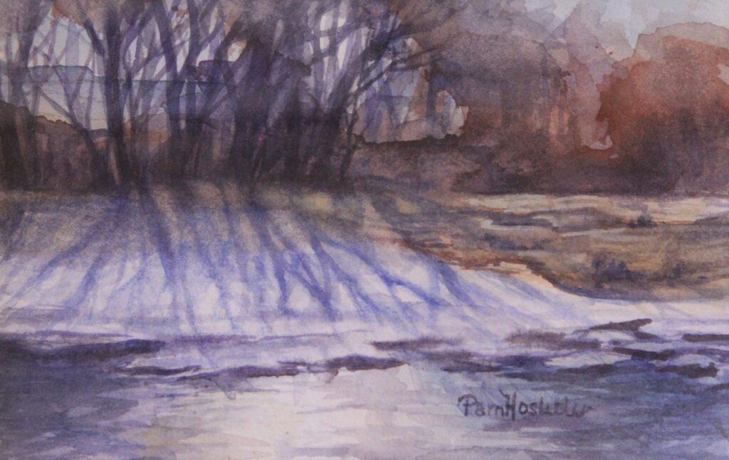 Pam Hostetler: Chilly Morning