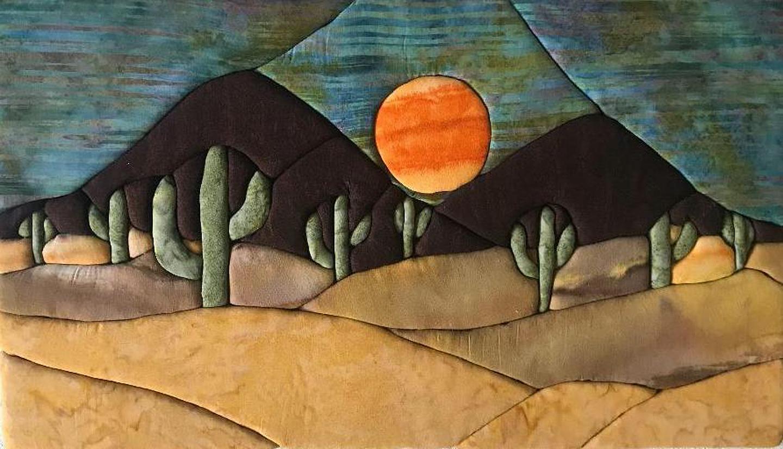 Gwen T. Samuels: Desert Sun
