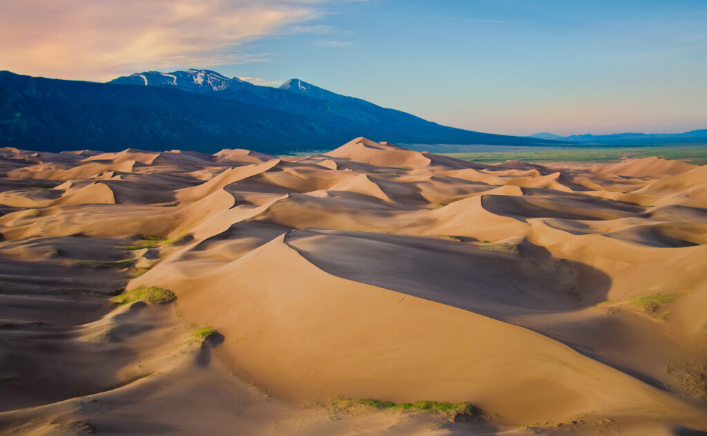 Paul Dressendorfer: Dunes at Dawn