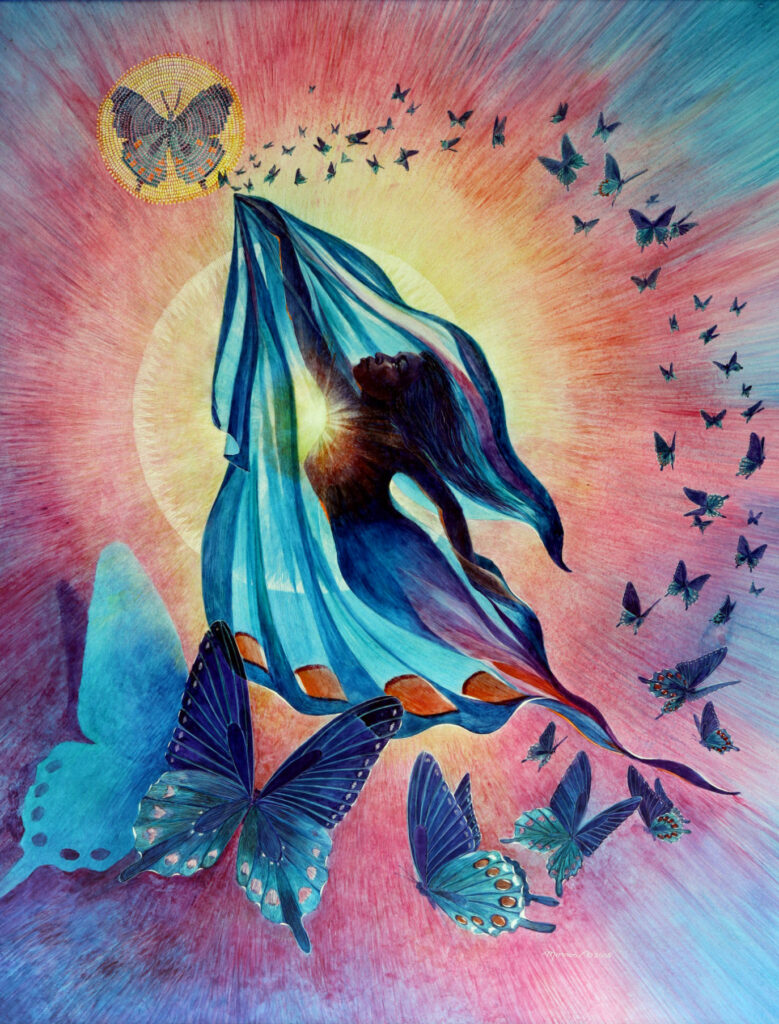 Kathy Morrow: Ebony Wind